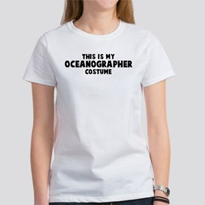 Oceanographer costume Women's T-Shirt