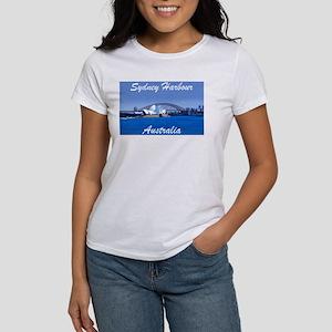 Sydney Harbour Painting Women's T-Shirt
