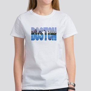 Boston Back Bay Skyline Women's T-Shirt