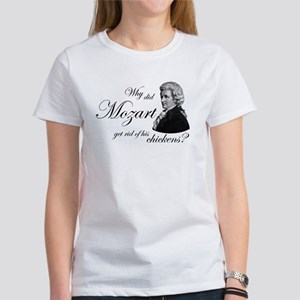 Mozart's Chickens Women's T-Shirt