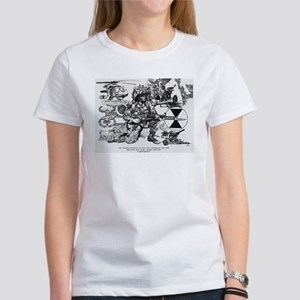 framed panel prin T-Shirt