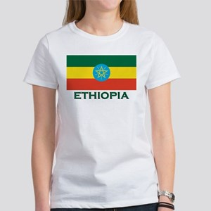 Ethiopia Flag Merchandise Women's T-Shirt
