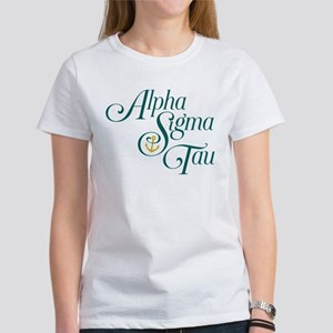 Alpha Sigma Tau Vertical Women's Classic T-Shirt