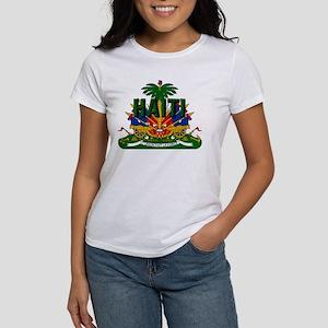 Haitian Coat of Arms Women's T-Shirt