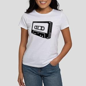 Black & White Cassette Tape Women's T-Shirt
