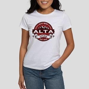 Alta Red Women's T-Shirt