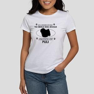 Puli dog funny designs Women's T-Shirt