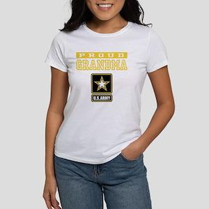 Proud Grandma U.S. Army Women's Dark T-Shirt