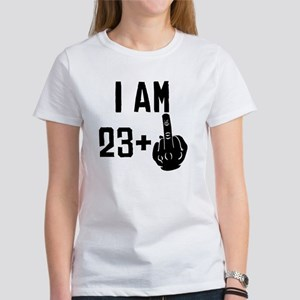 Middle Finger 24th Birthday T-Shirt