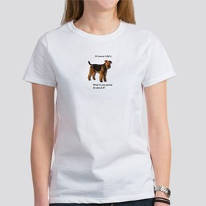 Guilty Airedale Shows No Remorse T-Shirt