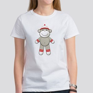 Red Sock Monkey Women's T-Shirt