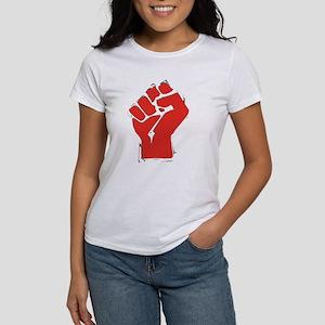 Raised Fist Women's T-Shirt