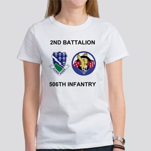 Army-506th-Infantry-BN2-Currahee-P Women's T-Shirt
