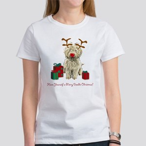 Merry Doodle Christmas Women's T-Shirt
