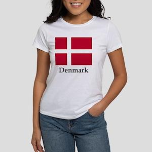 Denmark Flag Women's T-Shirt