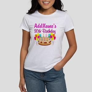 FABULOUS 30TH Women's T-Shirt