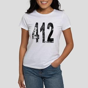 Pittsburgh Area Code 412 T-Shirt