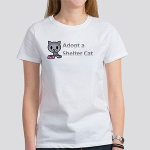 Adopt a Shelter Cat Women's T-Shirt