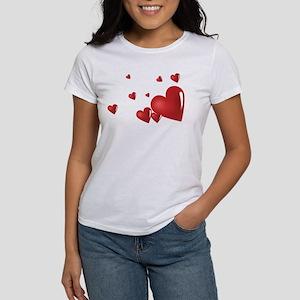 Hearts Women's T-Shirt