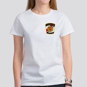 USCG Fire Department<BR> Women's T-Shirt 6