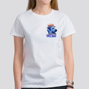 Vote Blue Dem Dog Women's T-Shirt