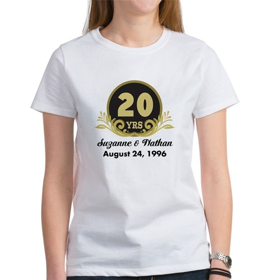 20th Anniversary Personalized Gift Idea