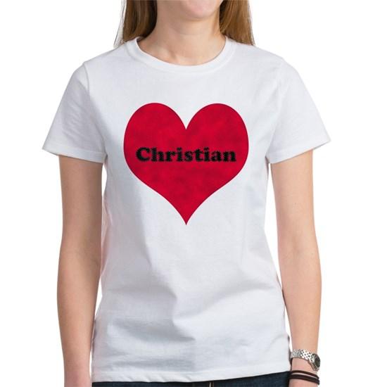 Christian Leather Heart