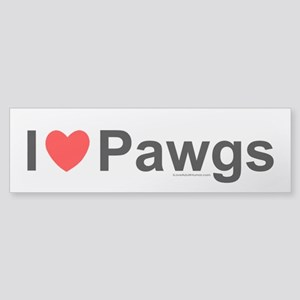 Pawgs Sticker (Bumper)