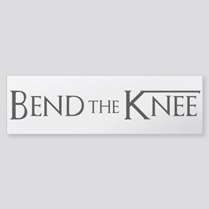 Game Of Thrones - Bend The Knee Bumper Sticker