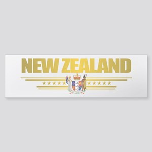 """New Zealand Gold"" Sticker (Bumper)"