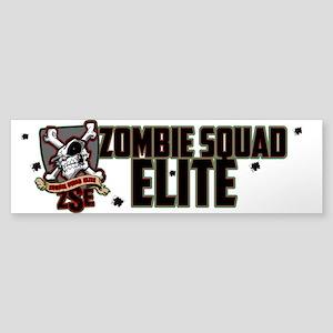 Zombie Squad Elite Car Decal (Bumper)
