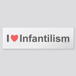 Infantilism Sticker (Bumper)
