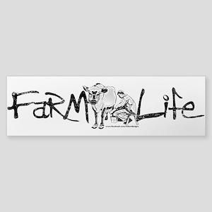 Farm Life Sticker (Bumper)