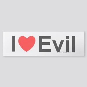Evil Sticker (Bumper)
