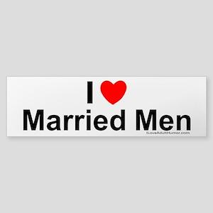 Married Men Sticker (Bumper)