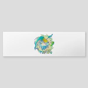 Gone Fishing 3 Sticker (Bumper)
