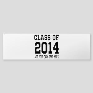 Class of 2014 Graduation Bumper Sticker