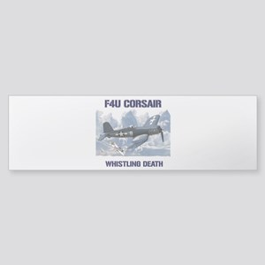 F4U Corsair Whistling Death Bumper Sticker
