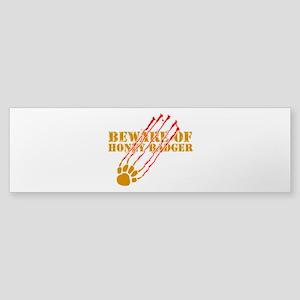 New SectionBeware of honey ba Sticker (Bumper)
