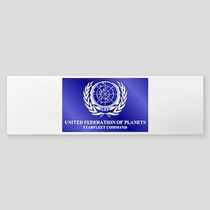STAR TREK UFP-SFC Sticker (Bumper)
