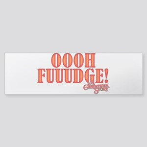 Oooh Fuuuudge Sticker (Bumper)