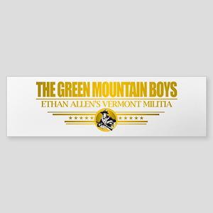 """""""The Green Mountain Boys"""" Sticker (Bumper)"""