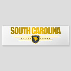 South Carolina Gold Label Sticker (Bumper)