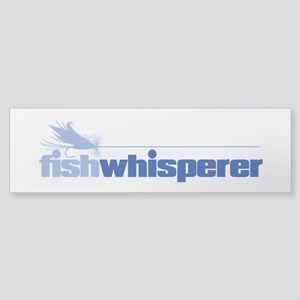 fishwhisperer 4 Bumper Sticker