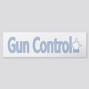 Gun Control Dislike Sticker (Bumper)