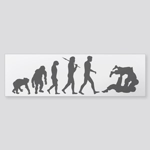 Evolution of Judo Sticker (Bumper)