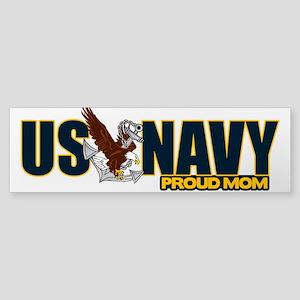 Navy Mom Sticker (Bumper)