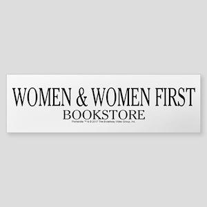 Women And Women First Portlandia Bumper Sticker