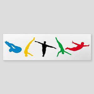 Diving Divers Sticker (Bumper)