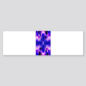Pastel Cross Bumper Sticker